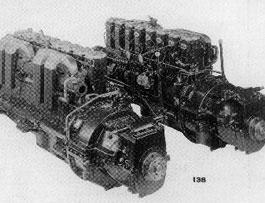 Gardner 8L3, 8 cylinder, 24litres, 150HP, 3.5 tons