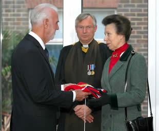 Medusa Rededicated by HRH The Princess Royal, October 20 2010