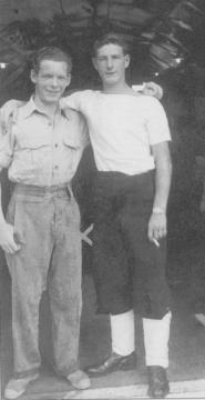 Leading Seaman Gordon Cleaver